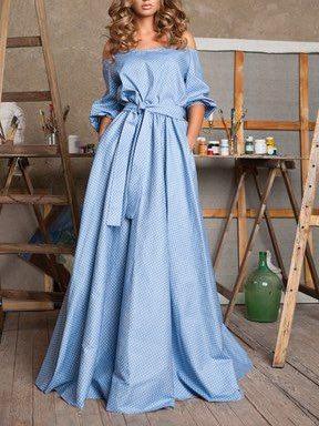 кроим и шьем платье