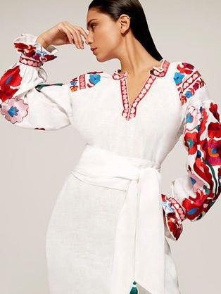 сшить этно-платье