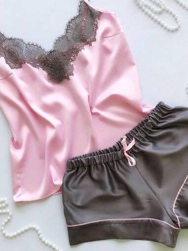 Атласная пижама как шить