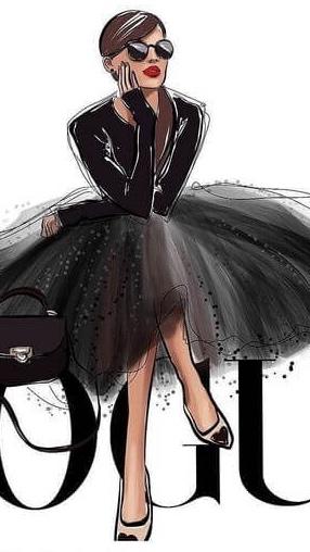 fashion иллюстрация курсы