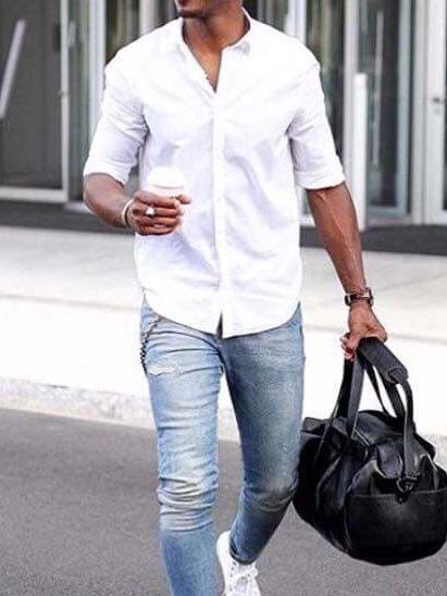 мужская рубашка выкройка