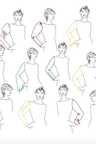 Моделирование рукавов, воротников, капюшонов
